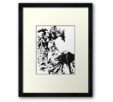 Raven Queen Framed Print