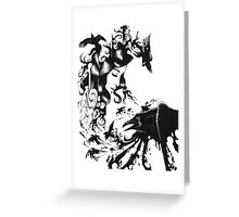 Raven Queen Greeting Card