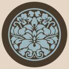 Japanese Crest Style Lotus by mingtees