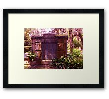 Shown to my Home Artistic Photograph by Shannon Sears Framed Print