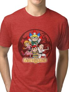Earthbound w/ Logo Tri-blend T-Shirt