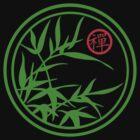 Zen Kamon (Green Version) by mingtees