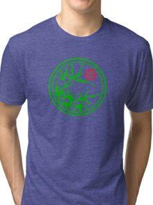 Zen Kamon (Green Version) Tri-blend T-Shirt