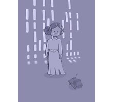 Leia on the Death Star Photographic Print