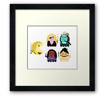 Kill Bill - Pacman Framed Print