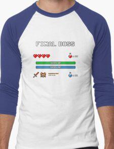 Final Boss Men's Baseball ¾ T-Shirt