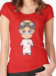 Chibi Dr. Horrible Women's Fitted Scoop T-Shirt