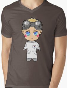 Chibi Dr. Horrible Mens V-Neck T-Shirt