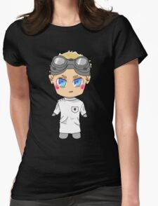 Chibi Dr. Horrible Womens Fitted T-Shirt