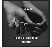 City of ashes by Cassandra Clare  Photographic Print