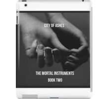 City of ashes by Cassandra Clare  iPad Case/Skin