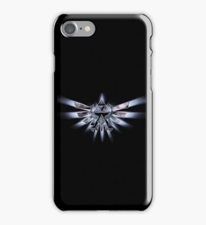 Triforce of courage - White  iPhone Case/Skin