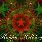 Christmas Stars Card by Sandy Keeton