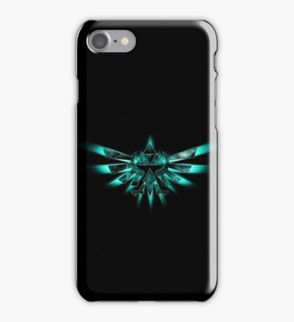 Triforce Of Courage - Green iPhone Case/Skin
