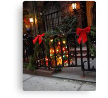 Yuletide in the City Canvas Print