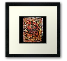 Exú, Orixa of the crossroads Framed Print