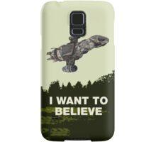 i want to believe Samsung Galaxy Case/Skin