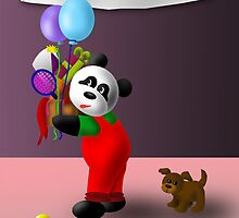 Birthday Panda by jkartlife