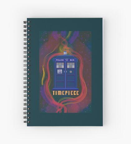 Timepiece Tardis Spiral Notebook