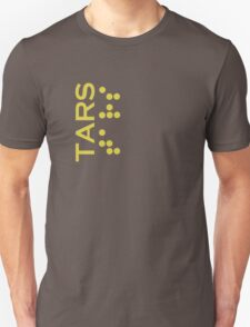 Interstellar - Tars design (correct font) Unisex T-Shirt