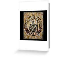 Orunmila, Orixa of divination Greeting Card
