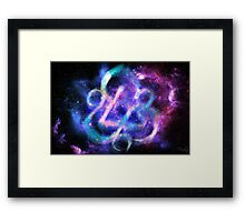 Coheed and Cambria Keywork Poster (No Text) Framed Print
