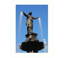 The Genius of Water - Fountain Square Cincinnati Ohio Art Print