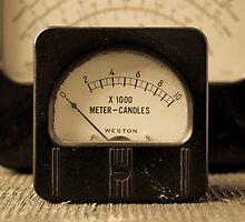 Vintage Electrical Meters by Edward Fielding