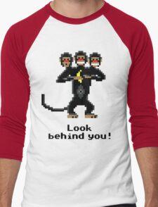 Three-Headed Monkey Men's Baseball ¾ T-Shirt