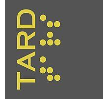 Interstellar - TARD robot logo Photographic Print