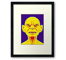 Gollum, alias in The Lord of the Rings: The Two Towers Framed Print