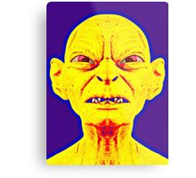 Gollum, alias in The Lord of the Rings: The Two Towers Metal Print