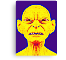 Gollum, alias in The Lord of the Rings: The Two Towers Canvas Print
