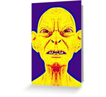 Gollum, alias in The Lord of the Rings: The Two Towers Greeting Card