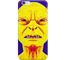 Gollum, alias in The Lord of the Rings: The Two Towers iPhone Case/Skin