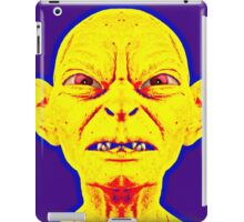 Gollum, alias in The Lord of the Rings: The Two Towers iPad Case/Skin