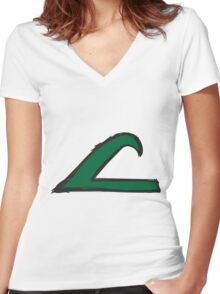 League Women's Fitted V-Neck T-Shirt