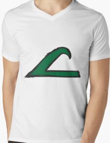 League Mens V-Neck T-Shirt