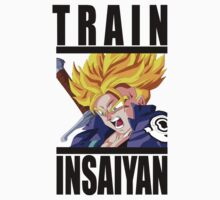 Train Insaiyan - Trunks by irig0ld