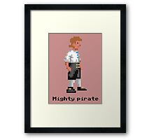Mighty Pirate Framed Print