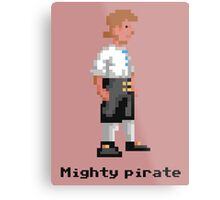 Mighty Pirate Metal Print