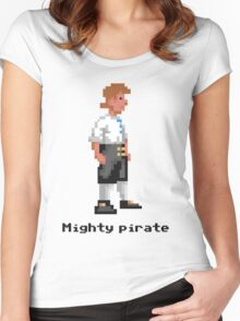 Mighty Pirate Women's Fitted Scoop T-Shirt