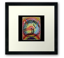 Oxumaré, Orixa of the rainbow  Framed Print