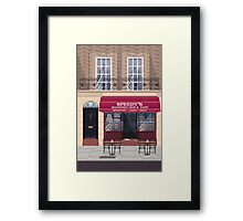 Welcome to Baker Street Framed Print