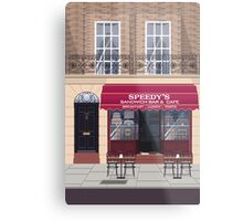 Welcome to Baker Street Metal Print