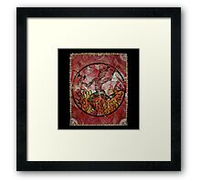 Xango, Orixa of fire and dance Framed Print