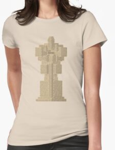 Statue Womens Fitted T-Shirt