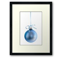 Christmas ornament Framed Print