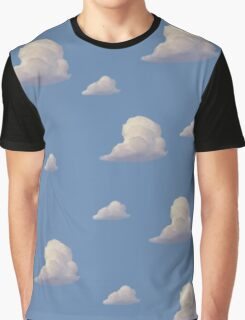 Toy Story Cloud Wallpaper Graphic T-Shirt