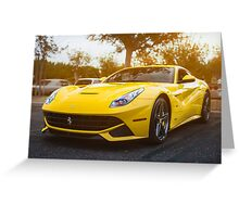 Ferrari F12 Greeting Card